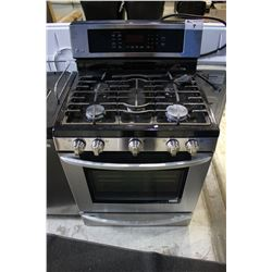 STAINLESS STEEL LG GAS-TOP STOVE