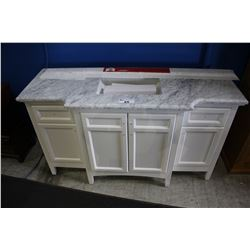 OVE ODESSA 60 PURE WHITE SINGLE BASIN VANITY