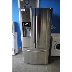 """33"""" STAINLESS STEEL SAMSUNG FRIDGE WITH BOTTOM FREEZER AND WATER/ICE"""