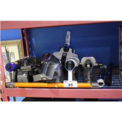 LOT OF DYSON AND HOOVER VACUUM PARTS