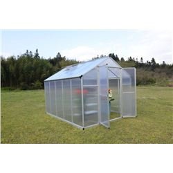 BRAND NEW 8 X 10' TMG INDUSTRIAL TWIN WALL GREENHOUSE (2 BOXES)