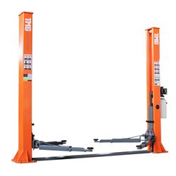 TMG INDUSTRIAL HEAVY DUTY 10,000 LBS 2-POST BASE PLATE AUTO LIFT (2 PIECES)