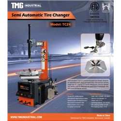 TMG INDUSTRIAL SEMI-AUTOMATIC TIRE CHANGER