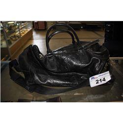 BLACK COACH DUFFLE BAG #B1093-70254