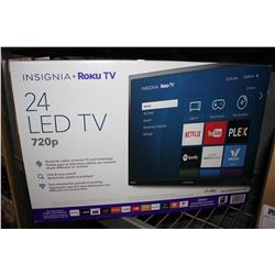 "24"" INSIGNIA ROKU 720P TV (MODEL# NS-24DR220CA18)"