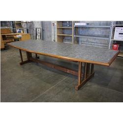 12' BOARD ROOM TABLE