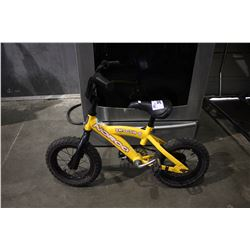 YELLOW NORCO SHOGUN CHILDREN'S BICYCLE