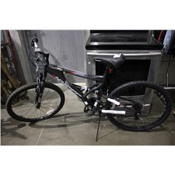 BLACK HYPER BEAR MOUNTAIN ALUMINUM FRAME 21-SPEED MOUNTAIN BICYCLE