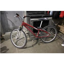 RED NORCO WOLVERINE ALUMINUM FRAME 21-SPEED MOUNTAIN BICYCLE