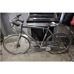 GREY TREK 24-SPEED ROAD BICYCLE WITH FRONT & BACK DISC BRAKES