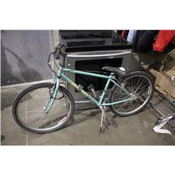 MINT GREEN KUWAHARA 18-SPEED MOUNTAIN BICYCLE
