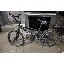 DARK GREEN NORCO VOLT BMX BICYCLE WITH BACK TIRE BIKE PEGS