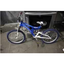 BLUE INFINITY SHAKE 7-SPEED CHILDREN'S MOUNTAIN BICYCLE