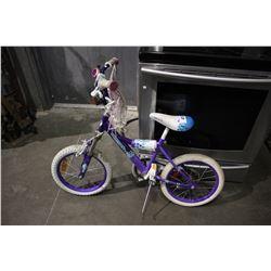 PURPLE SUPERCYCLE KIDZ CHILDREN'S BICYCLE