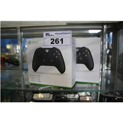 PAIR OF XBOX WIRELESS CONTROLLERS