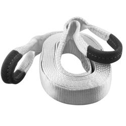 """PAIR OF DSA 3"""" X 30' RECOVERY STRAPS (27,000 LBS BREAKING STRENGTH; 13,500 LBS MVW)"""