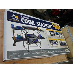"""GCI OUTDOOR SLIM-FOLD COOK STATION - 32"""" HEIGHT"""