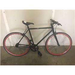 BLACK/RED BICYCLE