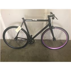 BLACK STATE UNDEFEATED BICYCLE