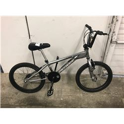 FREE AGENT MOTOCROSS BMX SILVER