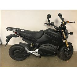 BLACK ELECTRIC SCOOTER (NO KEYS OR CHARGER)