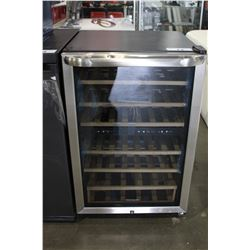 "21.5"" STAINLESS STEEL FRIGIDAIRE WINE COOLER"