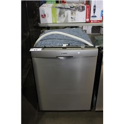 "24"" STAINLESS STEEL BOSCH SILENCEPLUS BUILT-IN DISHWASHER"