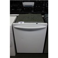 "24"" WHITE INSIGNIA BUILT-IN DISHWASHER"
