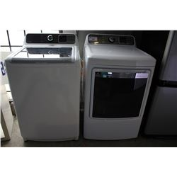 "24"" WHITE INSIGNIA HIGH EFFICIENCY WASHER AND DRYER SET"