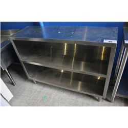 4' STAINLESS STEEL COMMERCIAL WORKSTATION