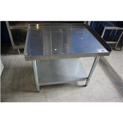 "31"" STAINLESS STEEL COMMERCIAL WORKSTATION"