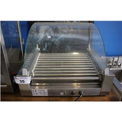 STAINLESS STEEL COMMERCIAL HOT DOG ROLLER -  SIZE: 585X505X420MM