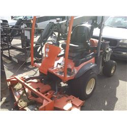 2011 KUBOTA F3680 TRACTOR, ORANGE, VIN # 14937