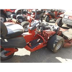 2013 FERRIS RIDE ON LAWN MOWER 687HRS VIN 2016522729