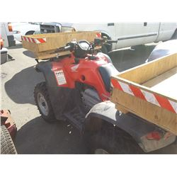 HONDA FORTRAX ATV *NO REGISTRATION*