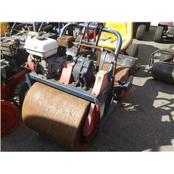 BROWER MODEL TR224 HONDA 5.5HP GAS RIDE ON CEMENT ROLLER