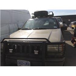 1995 JEEP GRAND CHEROKEE LAREDO, 4DR SUV, BROWN, VIN # 1J4GZ58Y4SC585768