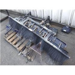 SMITHCO SAND RAKE & BROYHILL SWEEPER ATTACHMENT