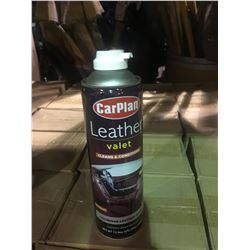 2 BOXES 6 X 400ML LEATHER VALET AUTOMOTIVE LEATHER CLEANER & CONDITIONER
