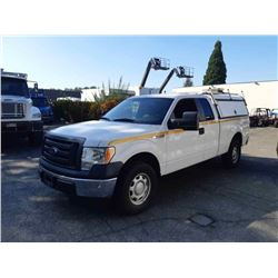 2010 FORD F150 CREW CAB, WHITE, GAS, AUTOMATIC, VIN#1FTFX1EV4AFC32633, 168,225KMS,