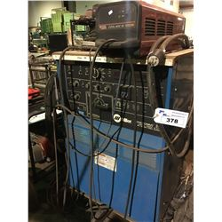 MILLER SYNCROWAVE 350 CONSTANT CURRENT AC / DC ARC WELDING POWER SOURCE WITH LINCOLN ELECTRIC