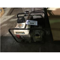 HONDA WP20X 4 HP GAS TRASH PUMP