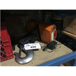 ORANGE ZCS-5T 5 TON ELECTRONIC CRANE SCALE WITH ADAPTOR