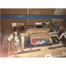 PALLET OF ASSORTED ELECTRICAL PARTS