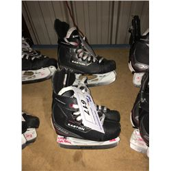 2 PAIR OF EASTON EQ50 HOCKEY SKATES: SIZE 13.3 / 9.7