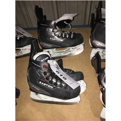 2 PAIR OF EASTON EQ50 HOCKEY SKATES: SIZE 13.1 / 10.10