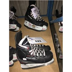 2 PAIR OF EASTON EQ50 HOCKEY SKATES: SIZE 12.3 / 12.1