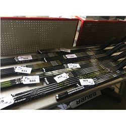 4 HOCKEY STICKS: CCM TACKS 7092 85, 65 FLEX