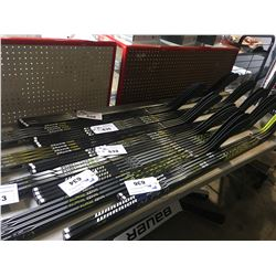 3 HOCKEY STICKS: CCM TACKS 7092 & 5092 85 FLEX