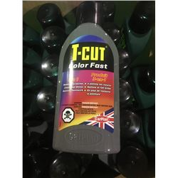 BOX OF ASSORTED 500ML T-CUT COLOR FAST 3 IN 1 AUTOMOTIVE CUT POLISH